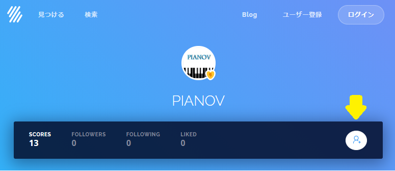 FlatでPIANOVをフォロー